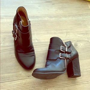 Urban Outfitters Moto Booties size 10